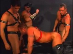 Muscle Daddy 4some