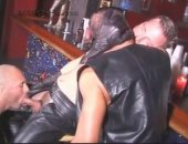 Hot Leather Cop Sucked Off