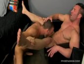 Beefy Hunk Brock Gets Rimmed and Fucked
