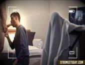 Str8 dude serviced-hidden cam