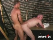 Fucking His Ass with my Cock and a Stick