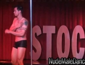 Hot Stripper Stud Danny Showing Off