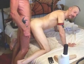 Macho Couple Extreme Bareback Fucking