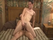 Hunk Couple Fucks Doggystyle at Home