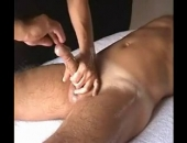 Slim Hunk Gets A Cockmassage