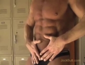 Hot Muscle Daddy Shows Off