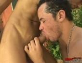 Ass Licking Latinos Outdoors
