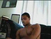 Muscular Black Teen on Cam