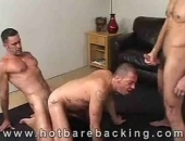 Tony Serrano, Lito Cruz & Tony London Fucking Bareback
