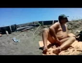 Self Fuck In Public Beach 2