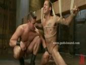 Fucked In Wild Bondage Sex