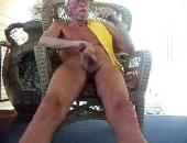 Daddy Smoking Outdoors
