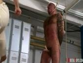 Naked Human Punch Bag