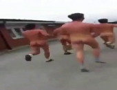 Naked Guys Running
