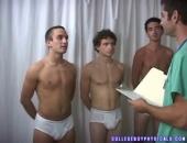 College Boy Physicals - Group Exam