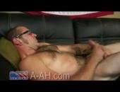 Hairy Navy Tattooed Hero With 9
