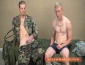 Straight Muscle Hunk Explores With Straight Twink