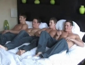 Fraternity sluts On A Bed
